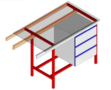 A Frame Laboratory Furniture Systems