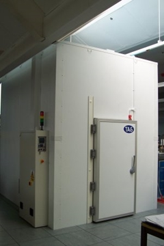 Expandable Environmental Test Rooms