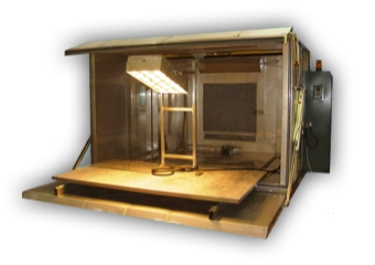 AirBag Deployment Chamber With Infra-Red Radiation