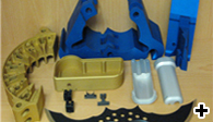 Anodised Finished Parts For Military Industries
