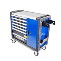 Hyundai HYTC9004 305 Piece 7 Drawer Castor Mounted Roller Premium Tool Chest Cabinet With XXL Stainless Steel Top