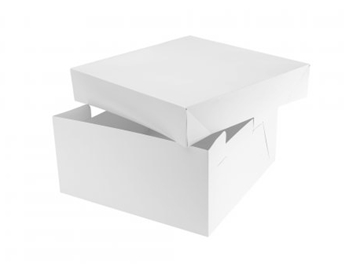 "12"" x 16"" Lid & Base Cake Box"
