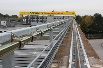 UK Supplier Of Fall Arrest Track Systems