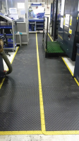 Anti-Fatigue Mats For Use On Factory Assembly Lines