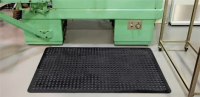 Anti-Slip Matting For Use In Car Workshops