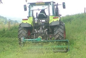 Agricultural plant hire in Brecon