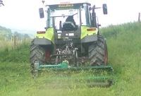Agricultural plant hire in Brecon Wales