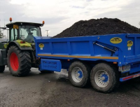 Agricultural tractors available for hire (with or without operators) in Wales