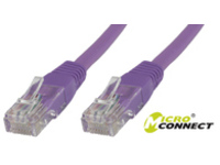 MicroConnect FTP CAT6 2M Purple PVC 4x2xAWG 26 CCA B-FTP602P - eet01
