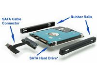MicroStorage 2nd HDD Cable & Caddy HP Envy 17, 17t,m7 KIT351 - eet01