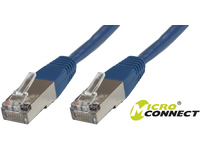 MicroConnect S/FTP CAT6 1m Blue PVC PiMF (Pairs in metal foil) B-SFTP601B - eet01