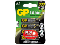 GP Batteries LITHIUM BATTERY AA/15LF Blister with 4 batteries. 1,5V AA 4-P 15LF - eet01