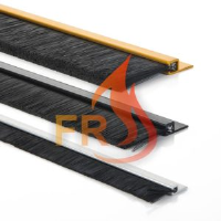 Superseal FR Brush Strip with 180 Degree Carrier