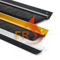 Superseal FR Fire Retardant Brush Strip with 45 degree Carrier