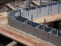 Modular Open Ended Hollow Plastic Pile
