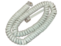 Cisco Cisco - Handset Cable - White - For Unified Ip Phone 6901, 6911, 6921, 6941, 6945, 6961, 8941, 8945, 8961, 9951, 9971 Cp-hs-cord-w= - xep01