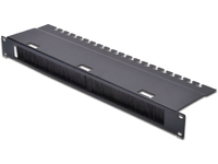 Digitus 1U cable management panel Front patch cord access hole. DN-19 ORG-3U-SW - eet01