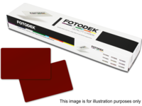 Capture Burgundy Plastic Card (0.76mm) Box of 500 BY76-A - eet01