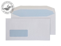 8702 Blake Purely Everyday White Window Gummed Mailer 110X220mm 110Gm2 Pack 1000 Code 8702 3P- 8702