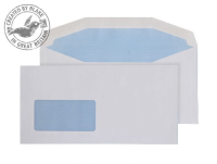 8704 Blake Purely Everyday White Window Gummed Mailer 114X229mm 110Gm2 Pack 1000 Code 8704 3P- 8704