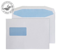8706 Blake Purely Everyday White Window Gummed Mailer 162X229mm 110Gm2 Pack 500 Code 8706 3P- 8706