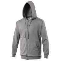 Bespoke Promotional Crag Hoppers Junior Charcoal Zipped Hoodies For Table Tennis