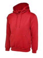 Bespoke Promotional Crag Hoppers Ladies Red Hooded Sweatshirts For Shinty