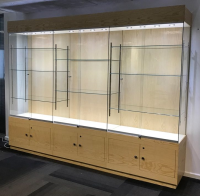 Glass Trophy Cabinets For Sale