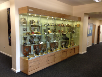 Wooden Trophy Cabinets
