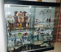 Glass Display Cabinets For Star Wars Collectors