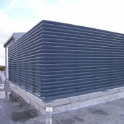 Roof Top louvred Plant Screens