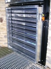Automatic Shut Off Louvres
