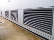 Weather Louvres Flanged