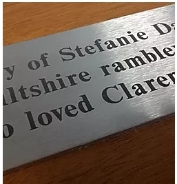 Laser Engraved Stainless Steel Signs