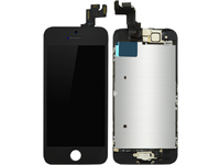 MicroSpareparts Mobile LCD for iPhone 5S/SE Black Full Assembly MOBX-DFA-IPO5S-LCD-B - eet01