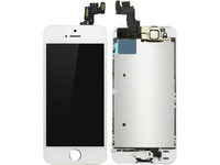 MicroSpareparts Mobile LCD for iPhone 5S/SE White Full Assembly MOBX-DFA-IPO5S-LCD-W - eet01
