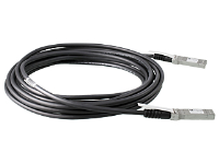 Hewlett Packard Enterprise Hpe Aruba Direct Attach Copper Cable - 10gbase Direct Attach Cable - Sfp+ To Sfp+ - 7 M - For Hpe Aruba 2930m 24 Smart Rate Poe+ 1-slot  8320 J9285d - xep01