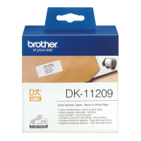 Brother P-touch Die-cut Map Label 29x62mm 800 Labels Dk-11209 - xep01