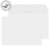 319 Blake Creative Colour French Grey Peel & Seal Wallet 162X229mm 120Gm2 Pack 500 Code 319 3P- 319
