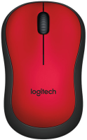 Logitech M220 Silent Mouse, Wireless Red 910-004880 - eet01