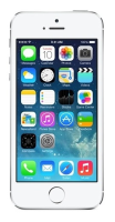 """Apple Apple Iphone 5s - Smartphone - 4g Lte - 16 Gb - Gsm - 4"""" - 1136 X 640 Pixels (326 Ppi) - Retina - 8 Mp (1.2 Mp Front Camera) - Silver Me433dn/a - xep01"""