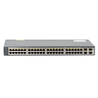 Cisco Cisco Catalyst 3750v2-48ps - Switch - L3 - Managed - 48 X 10/100 (poe) + 4 X Sfp - Rack-mountable - Poe Ws-c3750v2-48ps-s - xep01