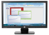 "Hp Hp Prodisplay P222va - Led Monitor - Full Hd (1080p) - 21.5"" K7x30aa - xep01"