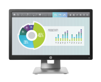 "Hp Hp Elitedisplay E202 - Led Monitor - 20"" M1f41at - xep01"