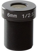 Axis LENS M12 6MM 5PCS  5801-771 - eet01