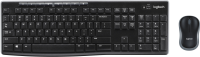 Logitech MK270 combo, Swiss Wireless, Black 920-004534 - eet01