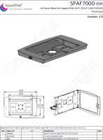 Ergonomic Solutions A-Frame (incl. insert) With integrated Push Lock for  SPAF7000-02 - eet01