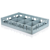 CONVEYOR TRAY WITH 8 COMPARTMENTS