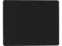 ESTUFF Mouse Mat Black 18x22CM 2mm thick ES80520BULK - eet01