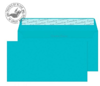 25209 Blake Creative Colour Cocktail Blue Peel & Seal Wallet 114X229mm 120Gm2 Pack 25 Code 25209 3P- 25209